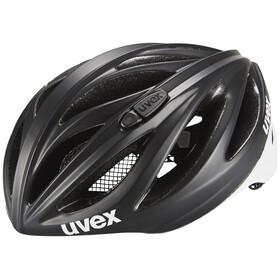UVEX boss race Helmet LTD black-white